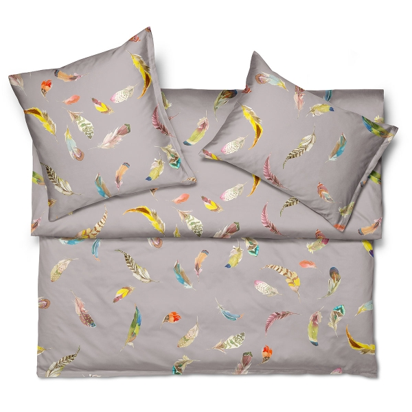 Пододеяльник BIRDS GALLERY-FINESSE 240*220 gris